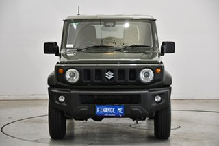 2020 Suzuki Jimny JB74 GLX Emerald Green 4 Speed Automatic Hardtop.