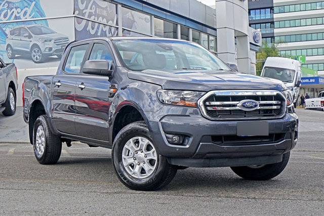 Used Ford Ranger PX MkIII 2021.25MY XLS Ebbw Vale, 2021 Ford Ranger PX MkIII 2021.25MY XLS Meteor Grey 6 Speed Sports Automatic Double Cab Pick Up