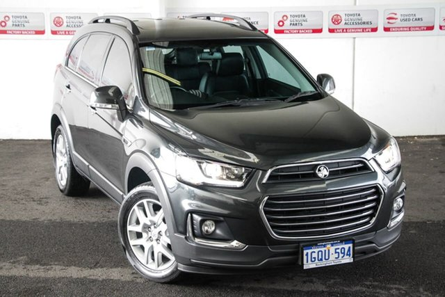 Pre-Owned Holden Captiva CG MY17 Active 7 Seater Rockingham, 2017 Holden Captiva CG MY17 Active 7 Seater Grey 6 Speed Automatic Wagon