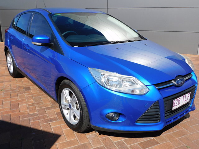 Used Ford Focus LW MkII Trend Toowoomba, 2013 Ford Focus LW MkII Trend Blue 5 Speed Manual Hatchback