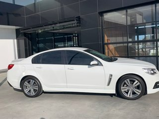 2014 Holden Commodore VF MY14 SV6 White 6 Speed Manual Sedan.