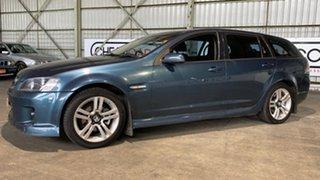 2008 Holden Commodore VE MY09 SV6 Sportwagon Blue 5 Speed Sports Automatic Wagon.