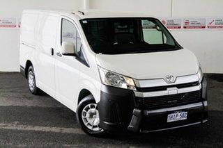 2019 Toyota HiAce GDH300R LWB French Vanilla 6 Speed Sports Automatic Van.