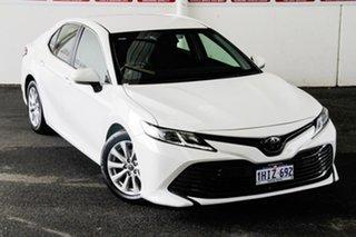 2019 Toyota Camry ASV70R Ascent Glacier White 6 Speed Sports Automatic Sedan.