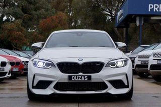 2019 BMW M2 F87 LCI Competition M-DCT White 7 Speed Sports Automatic Dual Clutch Coupe