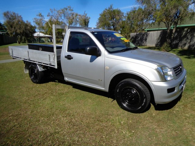 Used Holden Rodeo RA DX 4x2 Kippa-Ring, 2004 Holden Rodeo RA DX 4x2 Silver 5 Speed Manual Cab Chassis