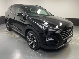 2019 Hyundai Tucson TL3 MY20 Highlander D-CT AWD Black 7 Speed Sports Automatic Dual Clutch Wagon.