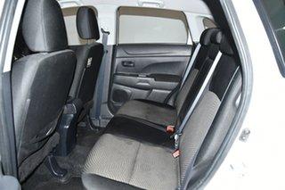 2013 Mitsubishi ASX XB MY13 2WD White 6 Speed Constant Variable Wagon