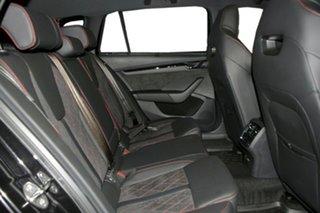 2021 Skoda Octavia NX MY21 RS DSG Black Pearl 7 Speed Sports Automatic Dual Clutch Wagon.