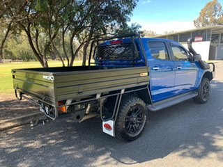 2015 Holden Colorado RG MY16 LTZ Crew Cab Oceanic Blue 6 Speed Sports Automatic Utility