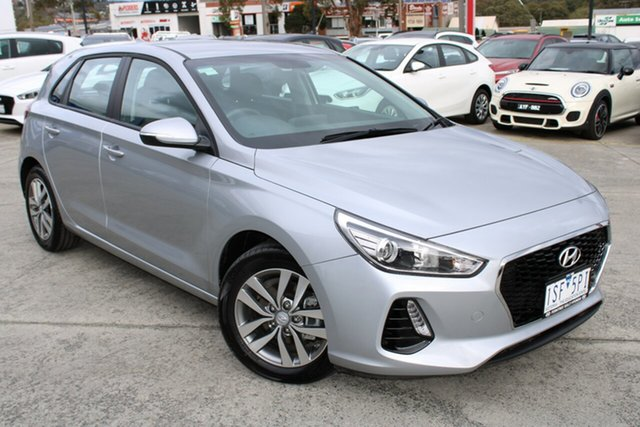 Used Hyundai i30 PD2 MY20 Active Ferntree Gully, 2020 Hyundai i30 PD2 MY20 Active Silver 6 Speed Sports Automatic Hatchback