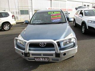 2009 Toyota RAV4 Blue 5 Speed Manual Wagon.