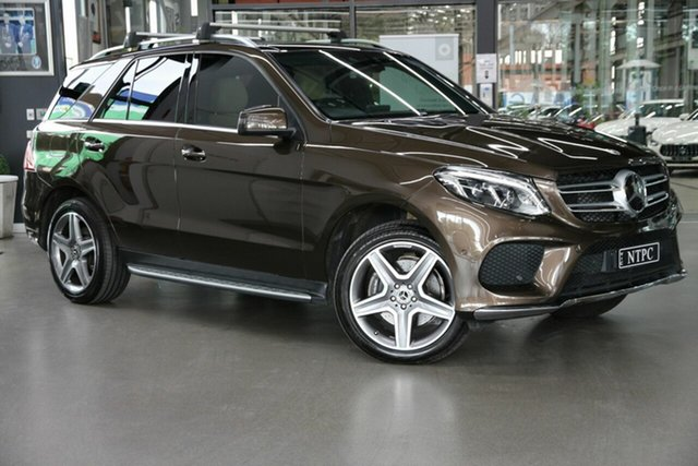 Used Mercedes-Benz GLE-Class W166 MY808+058 GLE350 d 9G-Tronic 4MATIC North Melbourne, 2018 Mercedes-Benz GLE-Class W166 MY808+058 GLE350 d 9G-Tronic 4MATIC Brown 9 Speed Sports Automatic