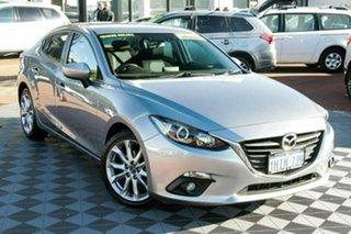 2014 Mazda 3 BM5238 SP25 SKYACTIV-Drive Silver 6 Speed Sports Automatic Sedan.