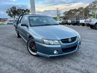 2006 Holden Crewman Thunder - SS Light Blue Automatic Dual Cab Utility.