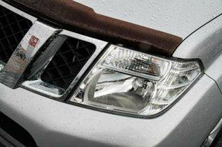 2013 Nissan Navara D40 S6 MY12 ST Silver 6 Speed Manual Utility