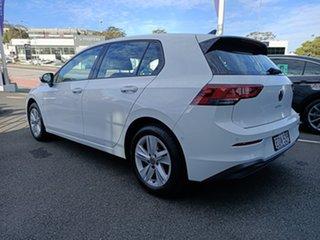 2021 Volkswagen Golf 8 MY21 110TSI Pure White 6 Speed Manual Hatchback
