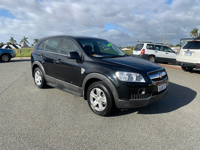 Used Holden Captiva CG MY10 SX (FWD) Wangara, 2010 Holden Captiva CG MY10 SX (FWD) Black 5 Speed Automatic Wagon