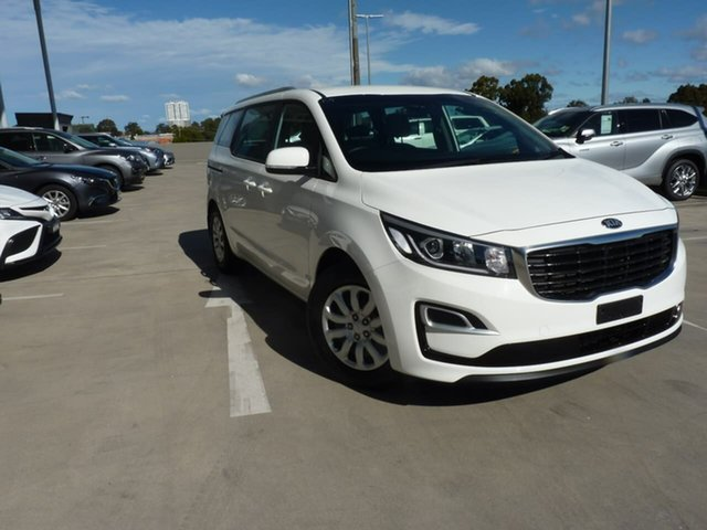 Pre-Owned Kia Carnival YP MY19 S Blacktown, 2019 Kia Carnival YP MY19 S Clear White 8 Speed Sports Automatic Wagon