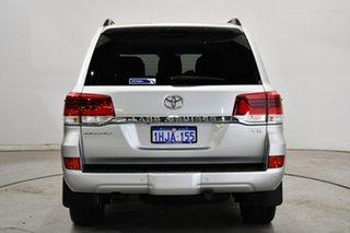 2018 Toyota Landcruiser VDJ200R Sahara Silver 6 Speed Sports Automatic Wagon