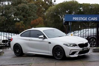 2019 BMW M2 F87 LCI Competition M-DCT White 7 Speed Sports Automatic Dual Clutch Coupe.
