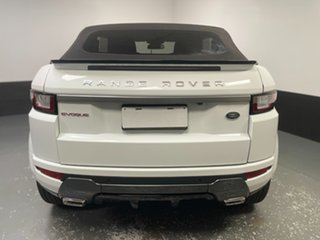 2018 Land Rover Range Rover Evoque L538 MY18 SE Dynamic White 9 Speed Sports Automatic Convertible