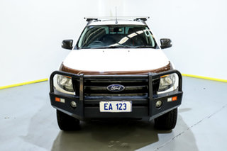 2013 Ford Ranger PX Wildtrak Double Cab White 6 Speed Sports Automatic Utility.