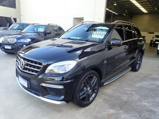 2013 Mercedes-Benz ML63 AMG 166 4x4 Black Crystal 7 Speed Automatic Wagon.