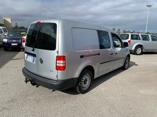 2013 Volkswagen Caddy 2K MY13 Maxi TDI250 Comfortline White 7 Speed Auto Direct Shift Wagon