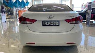 2012 Hyundai Elantra MD Active White 6 Speed Manual Sedan