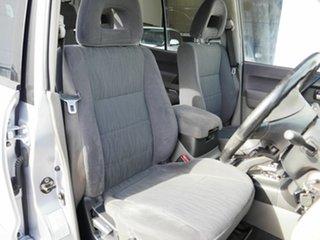 2004 Mitsubishi Pajero NP MY04 GLS Silver 5 Speed Sports Automatic Wagon