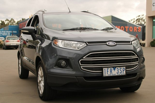Used Ford Ecosport BK Trend West Footscray, 2015 Ford Ecosport BK Trend Grey 6 Speed Automatic Wagon