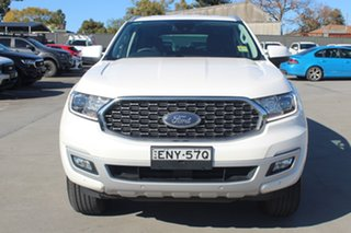 2021 Ford Everest UA II 2021.25MY Trend Alabaster White 6 Speed Sports Automatic SUV