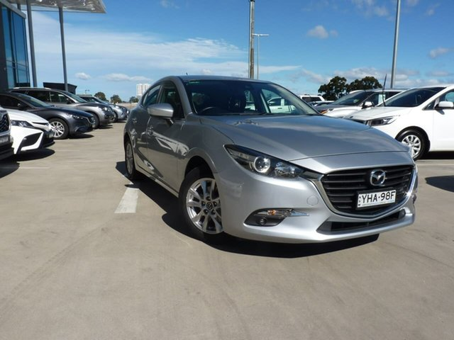 Pre-Owned Mazda 3 BN5478 Maxx SKYACTIV-Drive Blacktown, 2017 Mazda 3 BN5478 Maxx SKYACTIV-Drive Silver 6 Speed Sports Automatic Hatchback