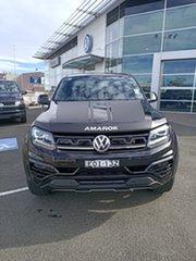 2020 Volkswagen Amarok 2H MY21 TDI580 4MOTION Perm W580S Deep Black Pearl Effect 8 Speed Automatic.