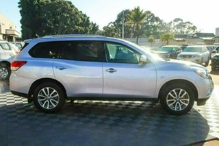 2014 Nissan Pathfinder R52 MY14 ST X-tronic 2WD Silver 1 Speed Constant Variable Wagon.