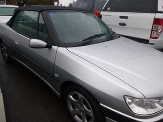 2001 Peugeot 306 N5 Silver Automatic Convertible.