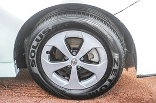 2012 Toyota Prius ZVW30R White 1 Speed Constant Variable Liftback Hybrid.