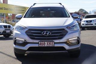 2016 Hyundai Santa Fe DM3 MY16 Elite Silver 6 Speed Sports Automatic Wagon.