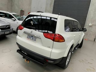 2012 Mitsubishi Challenger PB (KH) MY13 LS White 5 Speed Sports Automatic Wagon