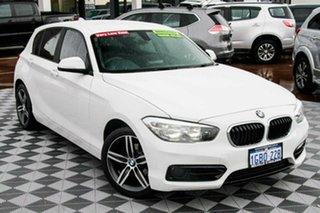 2016 BMW 1 Series F20 LCI 118i Steptronic Sport Line White 8 Speed Sports Automatic Hatchback.