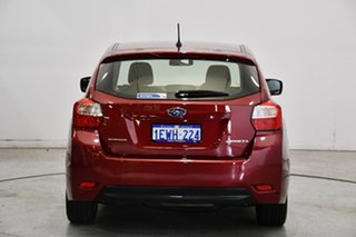 2015 Subaru Impreza G4 MY15 2.0i Lineartronic AWD Venetian Red 6 Speed Constant Variable Hatchback