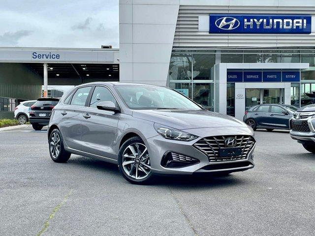 New Hyundai i30 PD.V4 MY21 Active South Melbourne, 2021 Hyundai i30 PD.V4 MY21 Active Fluidic Metal 6 Speed Automatic Hatchback