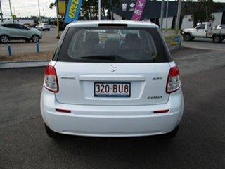 2010 Suzuki SX4 LIANA GLX White 4 Speed Automatic Hatchback