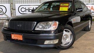 1998 Lexus LS UCF20R LS400 Black 5 Speed Automatic Sedan.