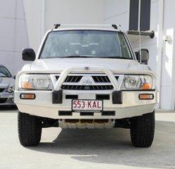 2004 Mitsubishi Pajero NP MY04 GLS Silver 5 Speed Sports Automatic Wagon.