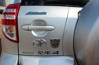 2010 Toyota RAV4 ACA33R MY09 Altitude Silver Pearl 5 Speed Manual Wagon