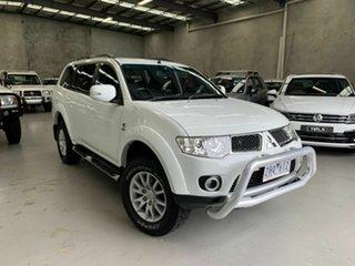 2012 Mitsubishi Challenger PB (KH) MY13 LS White 5 Speed Sports Automatic Wagon.