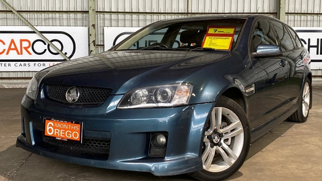 Used Holden Commodore VE MY09 SV6 Sportwagon Rocklea, 2008 Holden Commodore VE MY09 SV6 Sportwagon Blue 5 Speed Sports Automatic Wagon