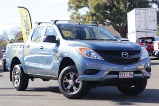 2014 Mazda BT-50 UP0YF1 XTR Blue 6 Speed Manual Utility.
